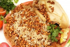 Rice with Pinenuts and Chicken
