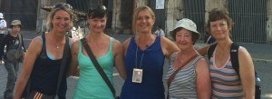 Women Guides in Rome