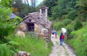Hiking in Italy's lake district