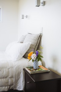 your bedroom at dreamtides Bnb Mangawhai womens accommodation